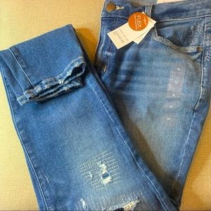 Signature fit skinny Jean size 14